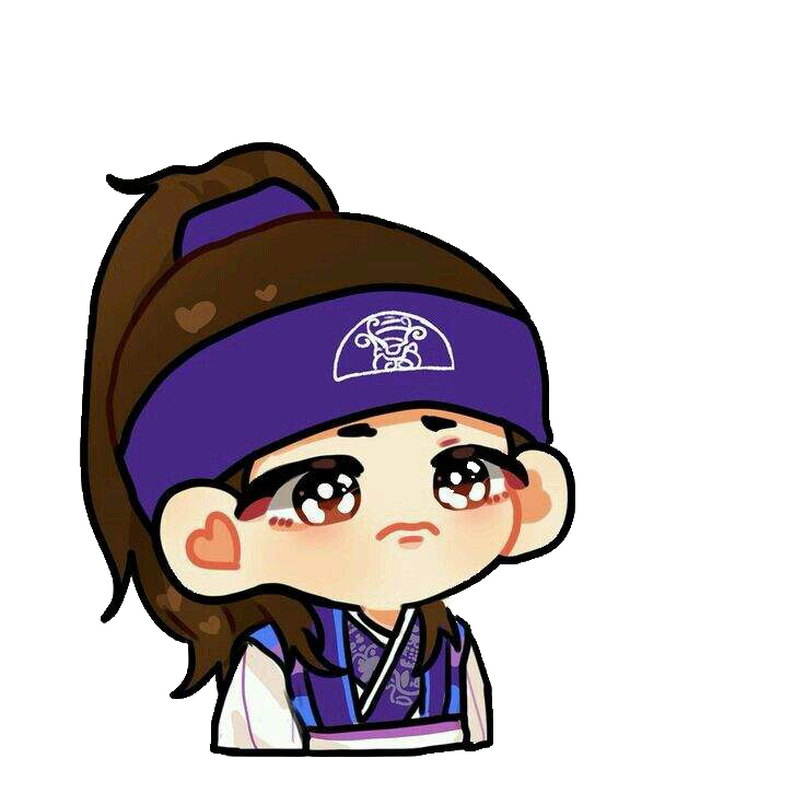 bts taehyung hwarang stickers kpopstickers chibi fanart scarf clipart svg scarf clipart border