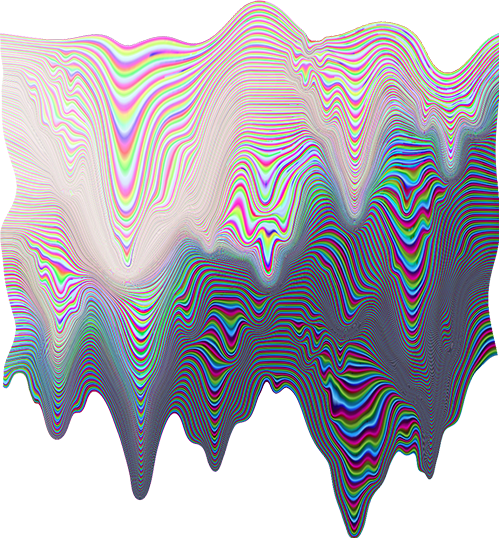 holographic dripping melting background pattern overlay...