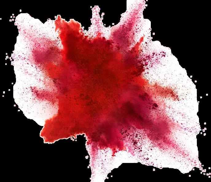 red color powder explosion sticker by priya rose clip art explosion burst clip art explosives