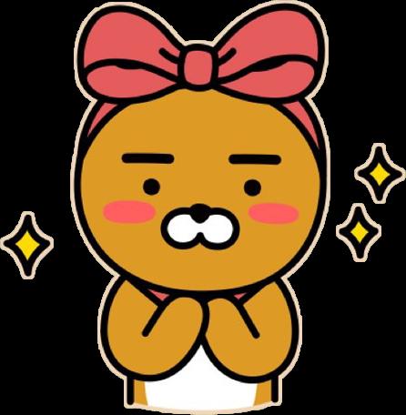 the best  t is you kakao kakaofriend ryan bow cute