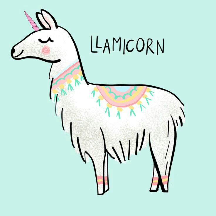 llamacorn llamaicorn unicorn horn i so so love llamas princess clipart png princess clip art for kids