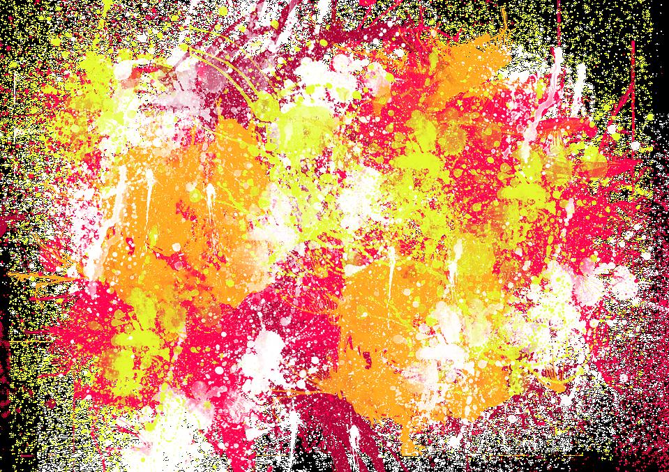 paint splatter background texture overlay...