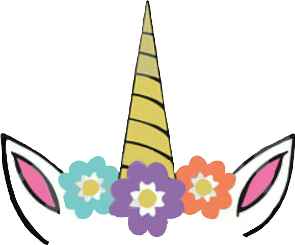 unicorn unicornio corona unicorncrown flowers flores clipart of pig clipart of pig butts