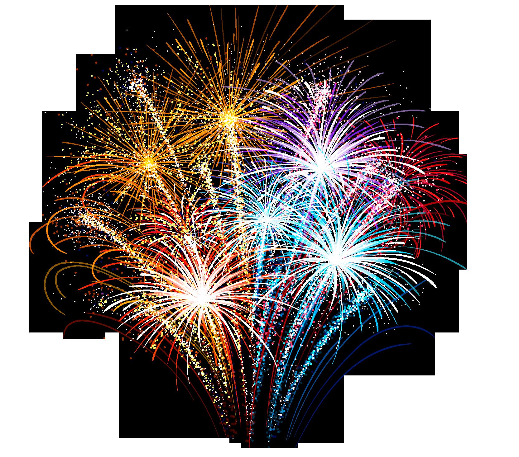 fireworks - Sticker by Blade AKS