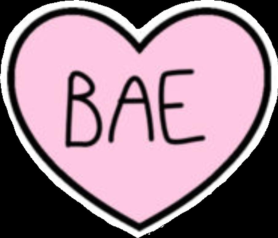 love heart bae tumblr - Sticker by nube.de.azucar