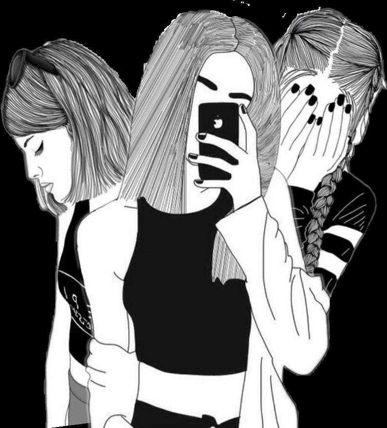 3girls Girls Bff Threegirls Selfie
