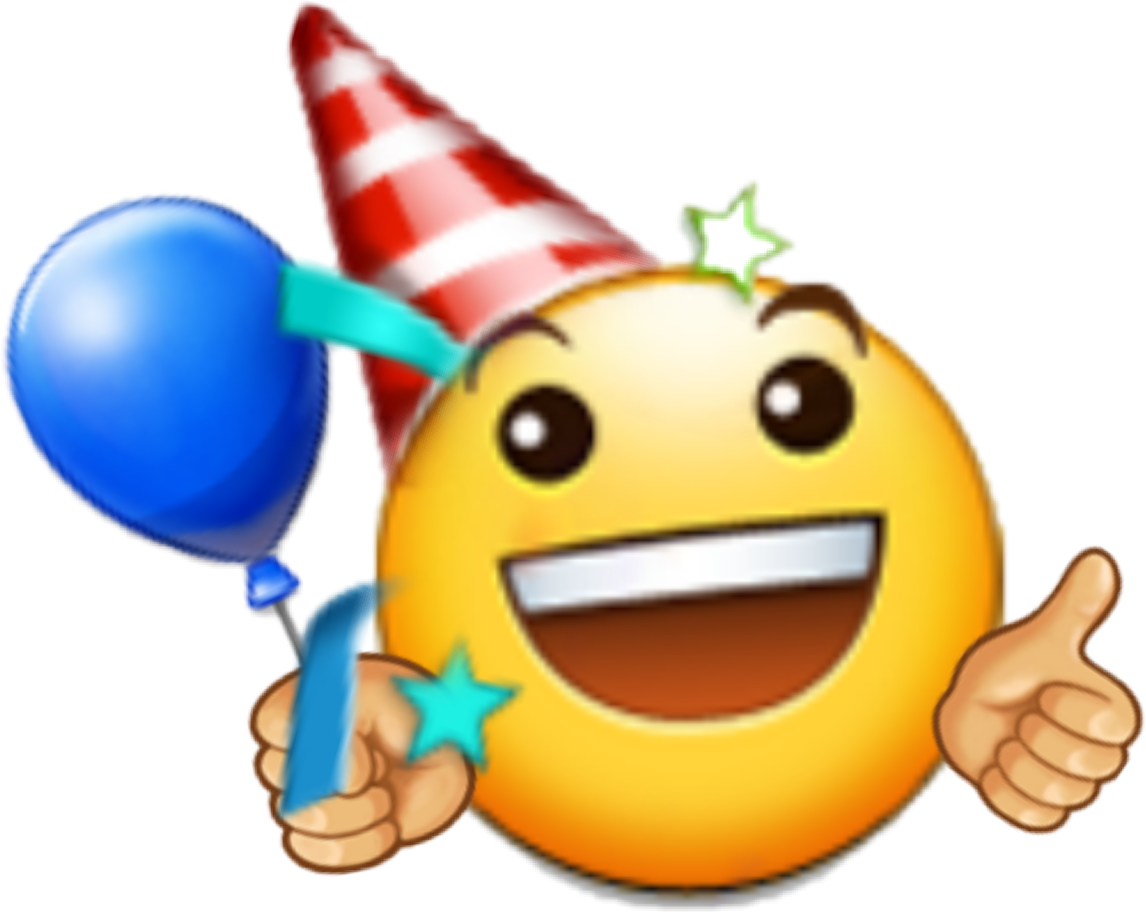 Emoji Emotions Birthday Happy Happybirthday Sticker Fre