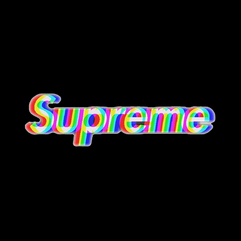 Supreme Tumblr Sticker By Rileyy