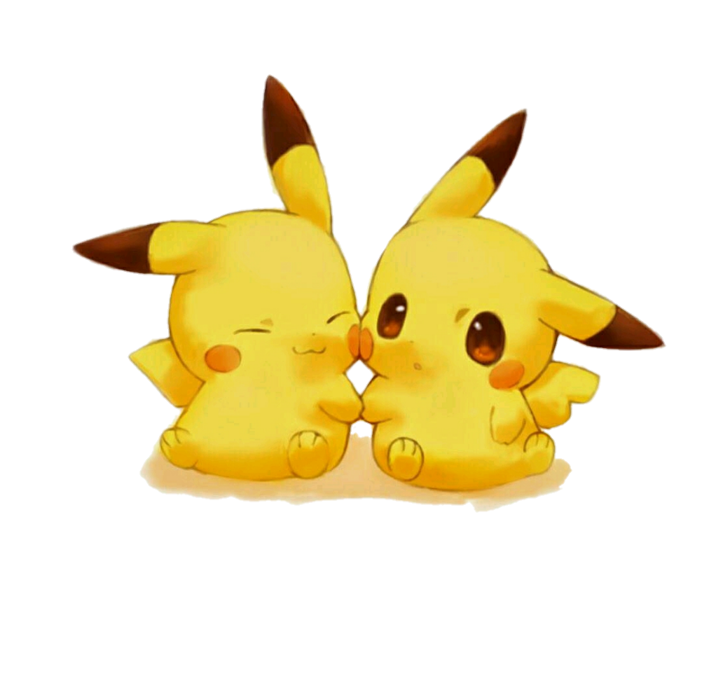 Tumblr pikachu kawaii cute sticker by tumblr - Kawaii pikachu ...