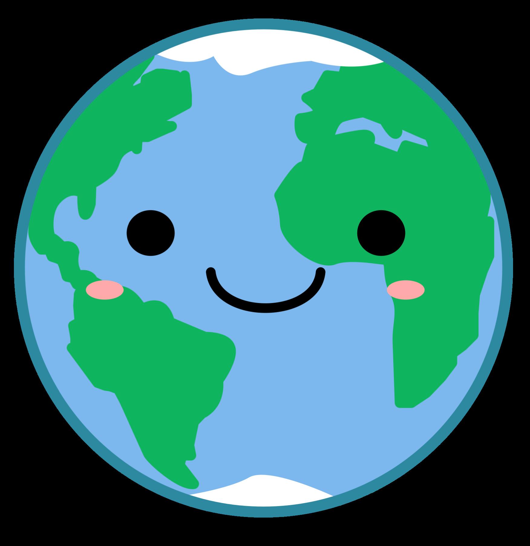 Planet Earth Kawaii Cute World Freetoedit