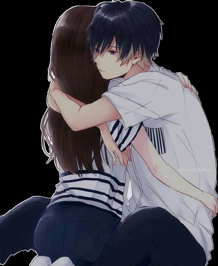 Hugs anime couple animecouple - Anime hug pics ...