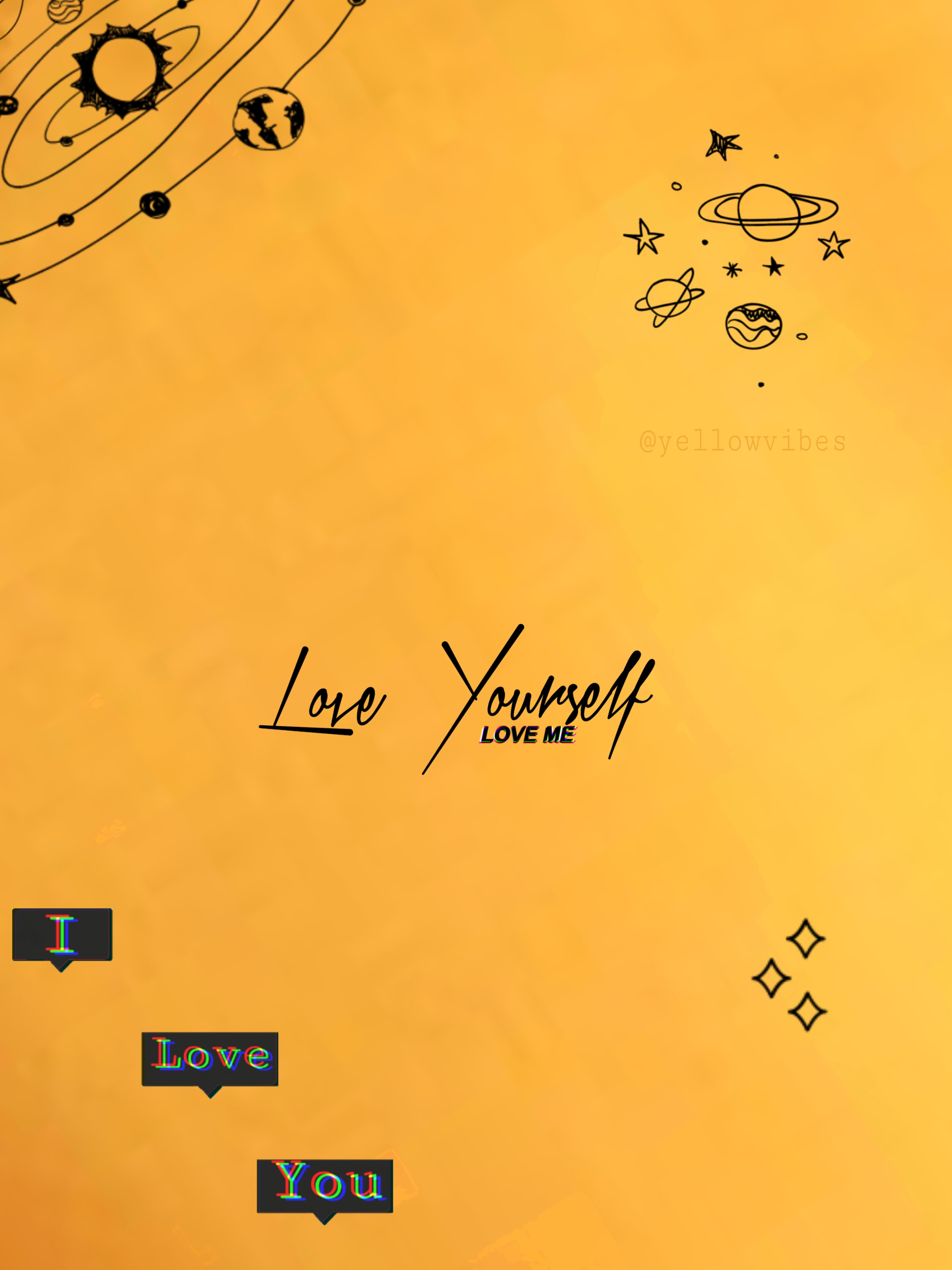 freetoedit yellow aesthetic wallpaper...