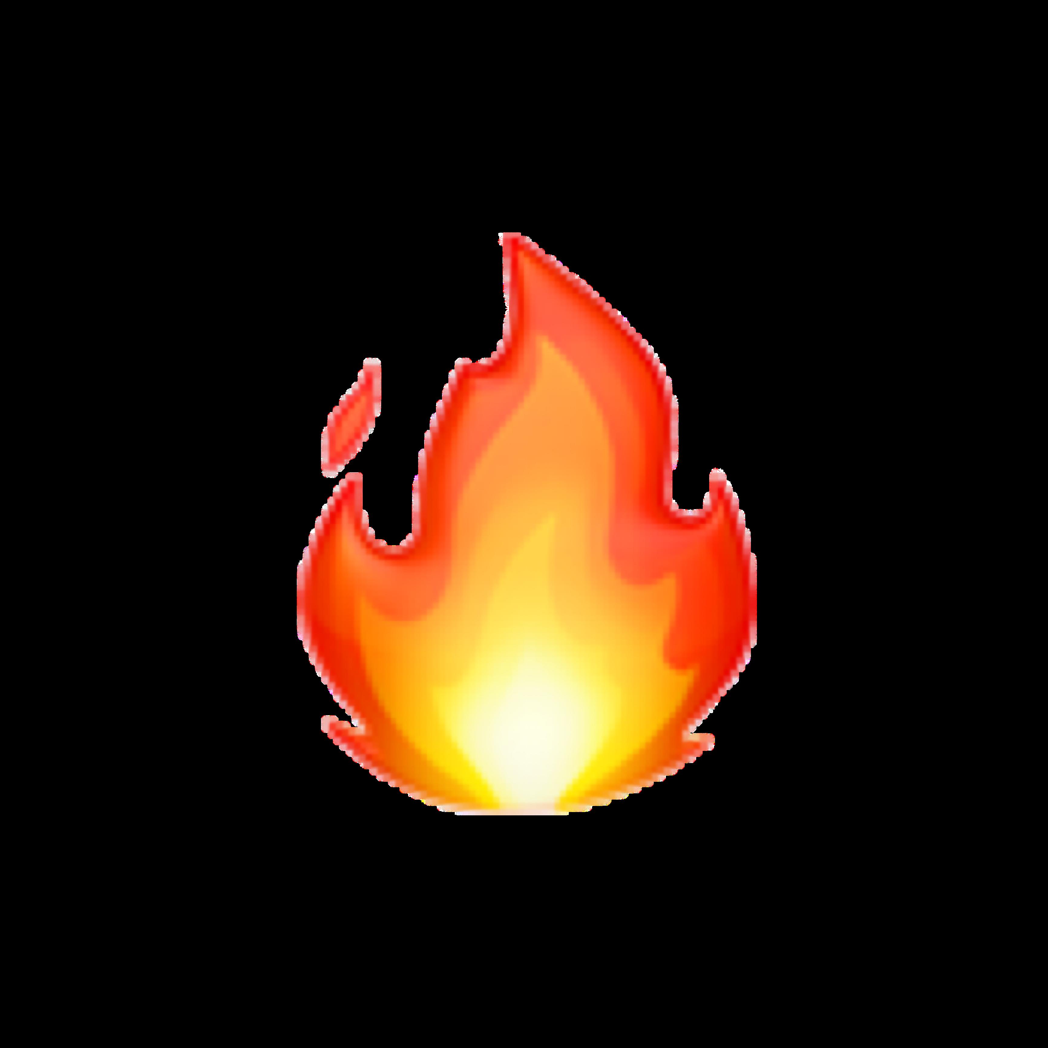 emoji iphone iphoneemoji fire fireemoji freetoedit