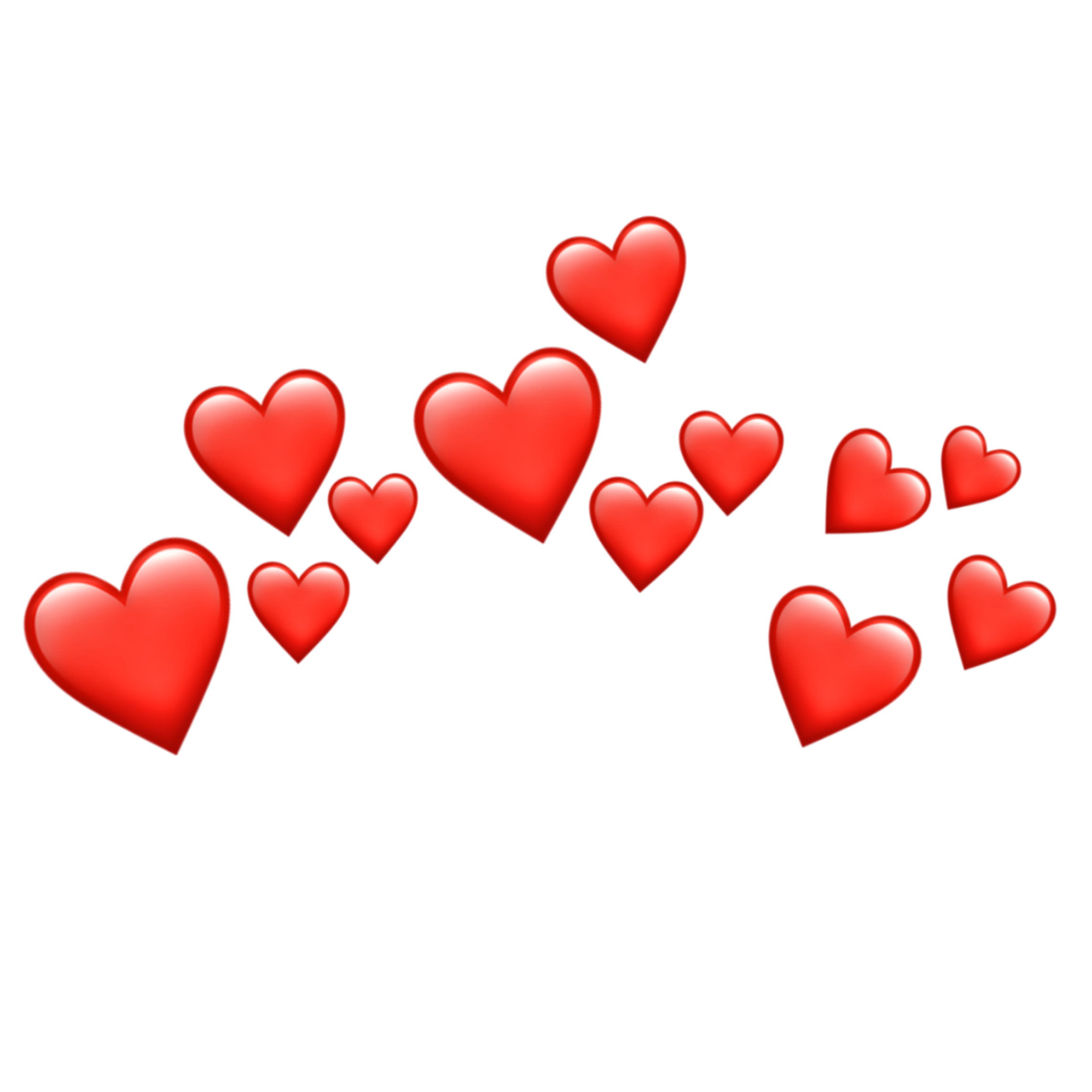 emoji crown heart picsart sticker coeur aesthetic hearts coroa transparent iphone flower snapchat meme filter stickers coracao pink background emojis