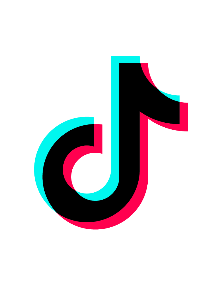 tiktok logo glitch freetoedit - Sticker by Mouse Trap