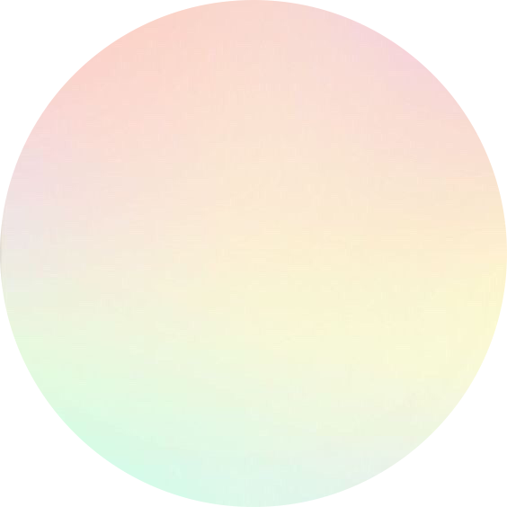 pastel rainbow circle background aesthetic gradient...