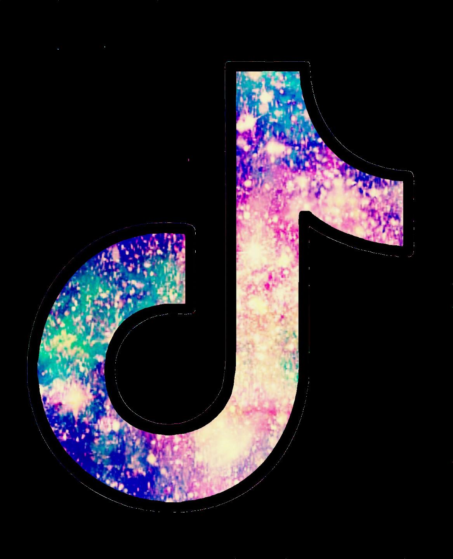 ftestickers glitter sparkle tiktok tiktoklogo galaxy...