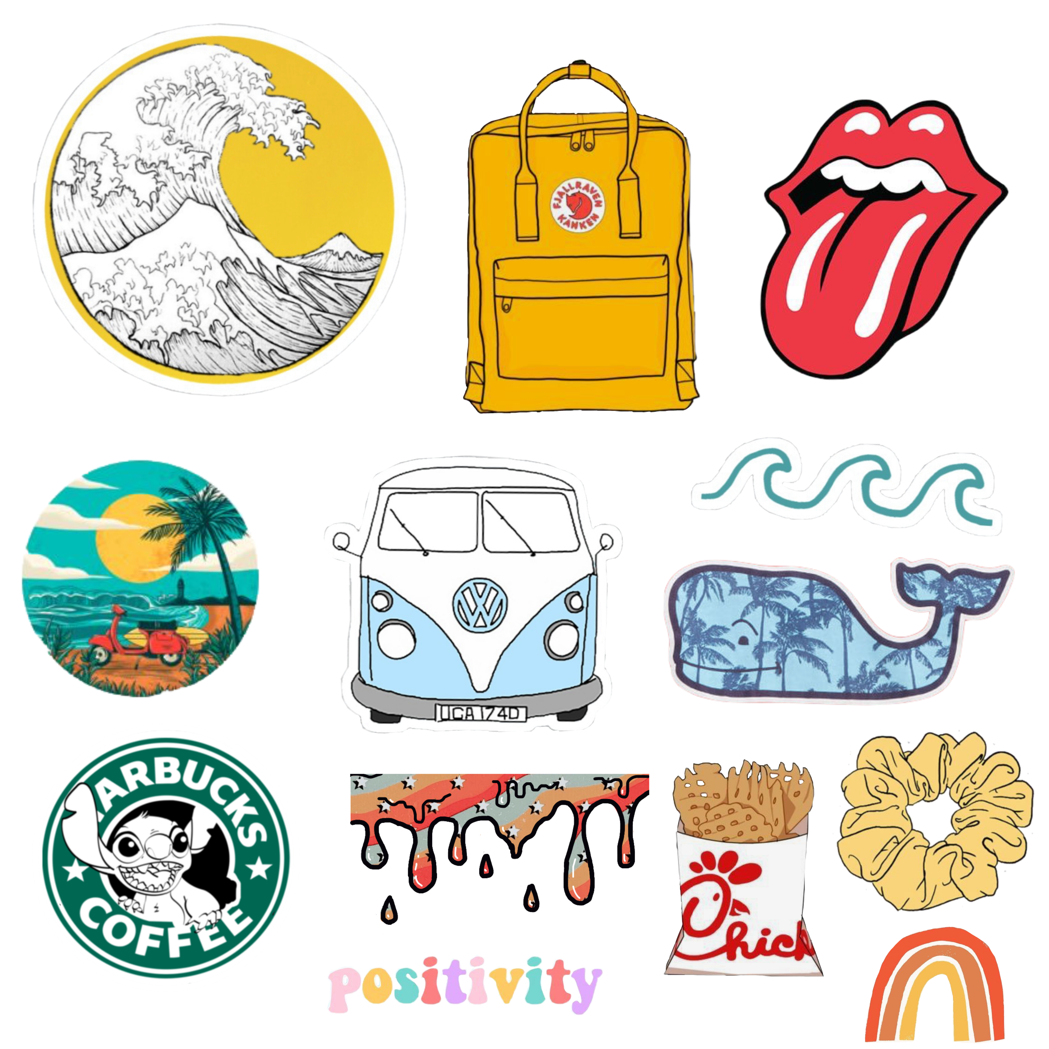 It is an image of Inventive Vsco Printable Stickers