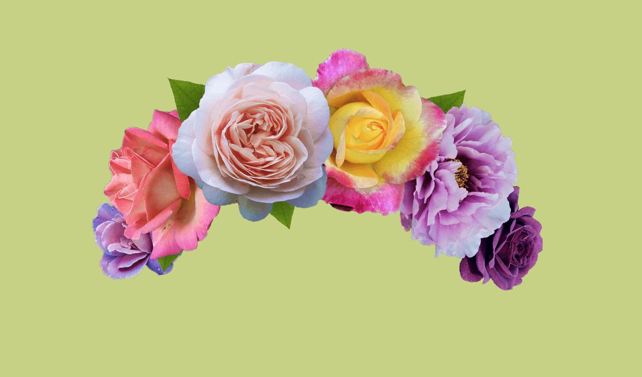 Frida Kahlo Flower Crown Sticker Remix Challenge On Picsart