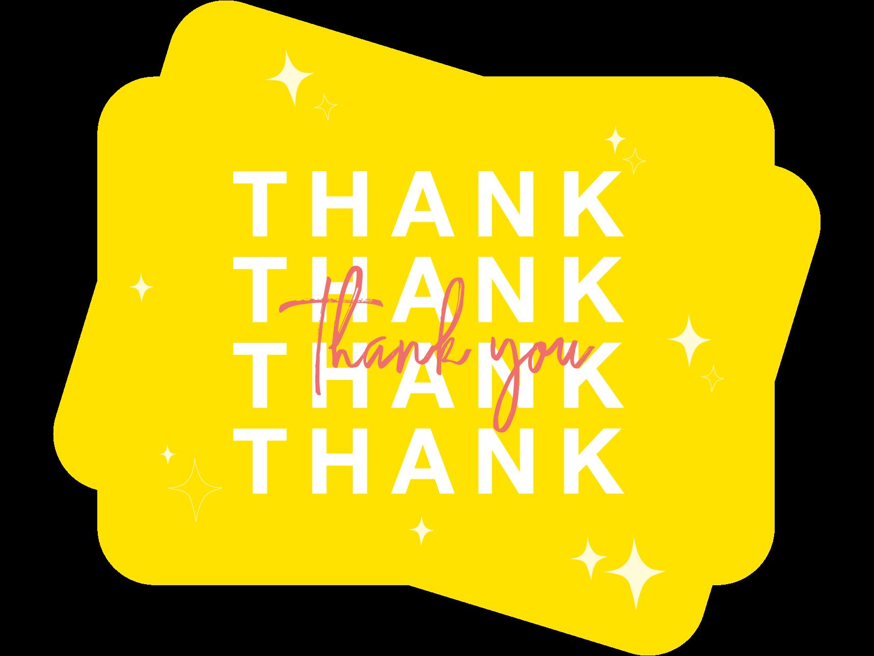 thank you card template design