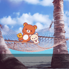 It's,summer,time!,☀️Grab,a,fresh,squeezed,lemonade,,hop,on,a,hammock,,and,relax,with,Rilakkuma!,Use,provided,stickers,and,sticker,brushes,to,remix,Rilakkuma,into,the,ultimate,scene,of,relaxation!,Gold,Subscribers,can,sink,into,further,relaxation,with,Rilakkuma,templates,and,backgrounds!,Cover,image,by,@rilakkuma
