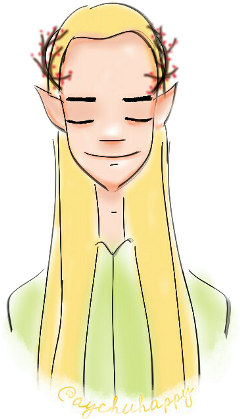 colorsplash  drawing cute elf freetoedit