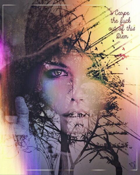 #FreeToEdit #holographicoverlay #dailyremixit #remixit #doubleexposure #layersonlayers #inspirationalquotes