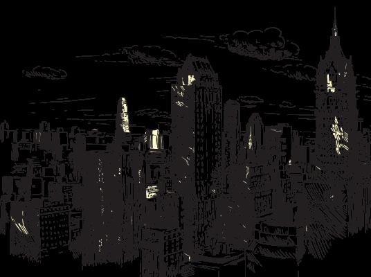 City Buildings Cityscape Cityview Sticker By J O I E