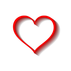 shapes heart red freetoedit