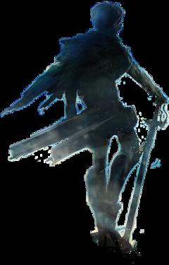 attakontitan anime titans sword levi freetoedit