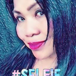 selfiestickerremix freetoedit selfie