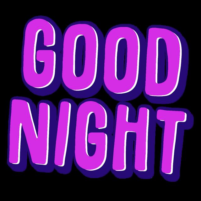#word #goodnight #freetoedit