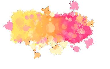 smoke watercolor pink yellow effect