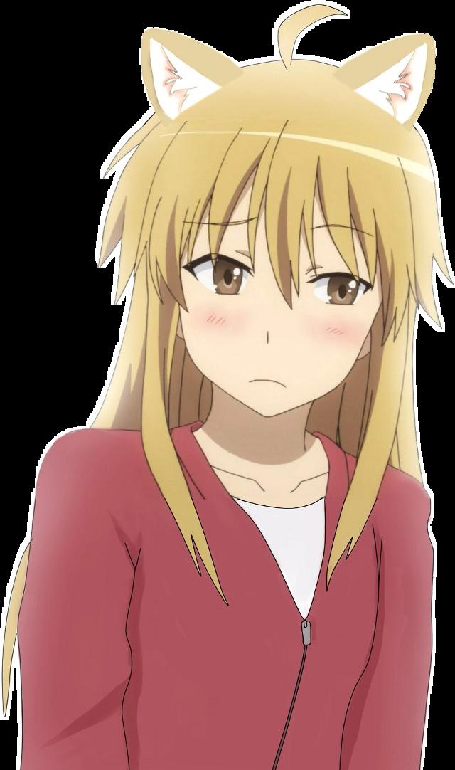 #neko #ушки #girl #anime #мило #freetoedit