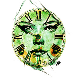 freetoedit remixed stickers clock clockface
