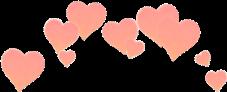 corona owogoldkawaii corazones rosa coronadecocorazones
