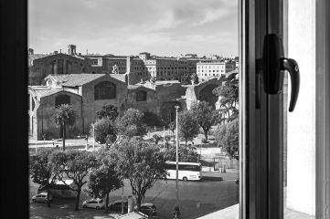rome blackandwhite roma city cityscape
