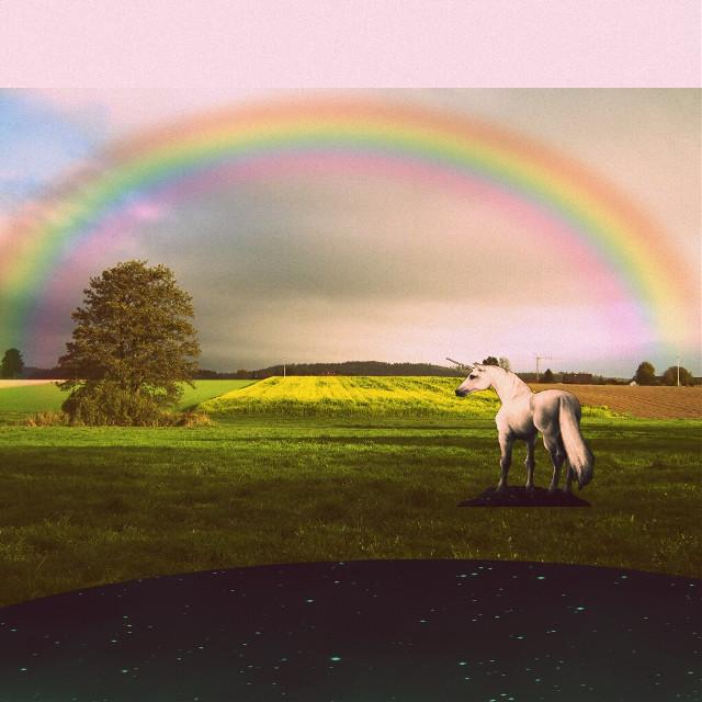 #freetoedit  #unicorn  #universe #tumblr  #belive