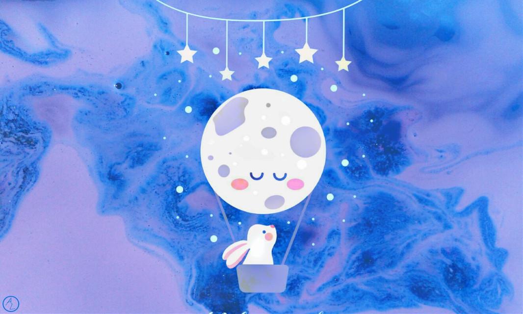 #FreeToEdit  #curvestool #moon