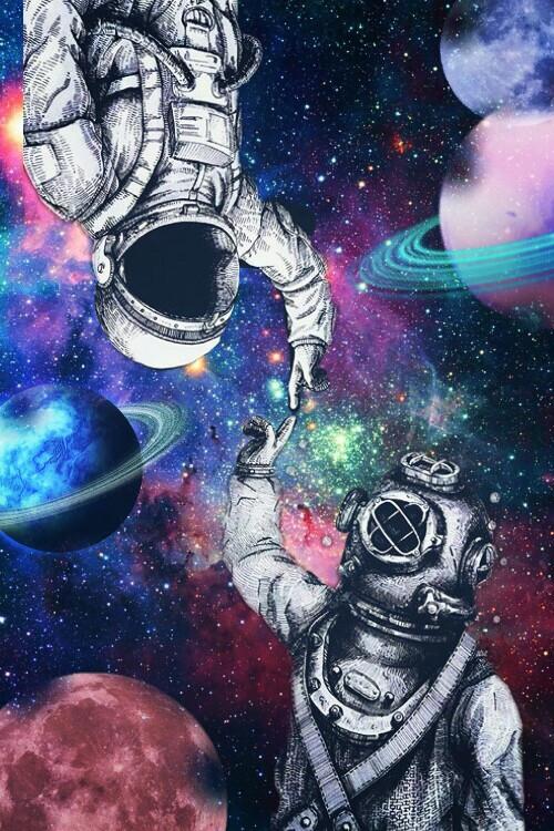 #planet #astronaut #galaxy