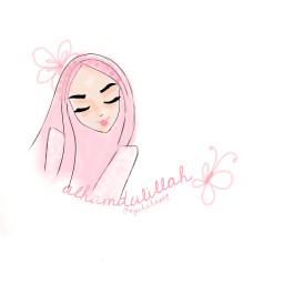 freetoedit drawing girl muslimgirl muslim