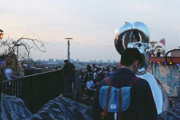 berlin hipster lifestyle rooftop potrait freetoedit