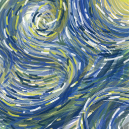 vangogh vangoghsky vangoghinspired starrynightsky swirls