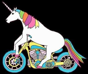 motorcycle harley harleydavidson unicorn freetoedit