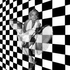 popart blackandwhite overlay illusion dailystickerremix freetoedit