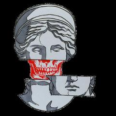 статуя череп исскуство freetoedit