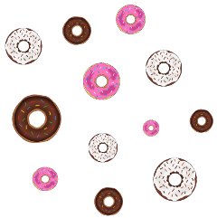 ftestickers donut donuts mask