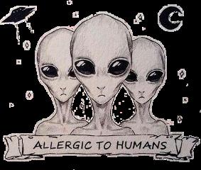 alien aliensarereal allergictohumans freetoedit