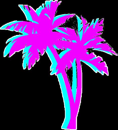 #palmtrees #asthetic #vaporwave #tumblr #FreeToEdit