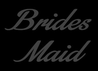 ftestickers bridesmaids wedding alwaysabridesmaid bride